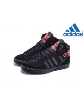 Femme Pas Cher Adidas Originals Extaball W High Noir Rose