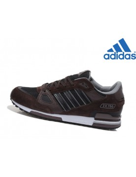 Soldes Adidas Homme Chaussures Adidas ZX 750 Marron Noir