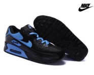 Nike Air Max 90 Baskets Mode Homme Noir/Bleu